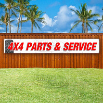 4x4 PARTS AND SERVICE Advertising Vinyl Banner Flag Sign LARGE HUGE XXL ... - $23.74+