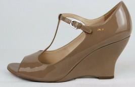 Franco Sarto Sadie Damen Mary Jane Schuhe Vorne Offen Taupe Größe 9M - $25.87