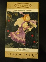 Pansy Angel Collector Series Hallmark Keepsake Christmas Ornament w/ Box... - $14.95