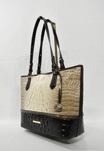 NWT Brahmin Medium Asher Tote/Shoulder Bag in Siltstone Bologna Tri-Texture - $279.00