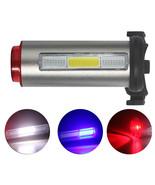 New luces de la bicicleta Aluminum Rechargeable Bike Tail Light Safety W... - $9.50