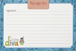 Kitchen Diva Recipe Cards - $9.99