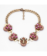 Flower Pendant Necklace All-match Women's Accessories Choker Necklace - $24.16