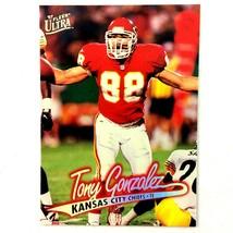 Tony Gonzalez 1997 Fleer Ultra Rookie Card #212 NFL HOF Kansas City Chiefs - $2.92
