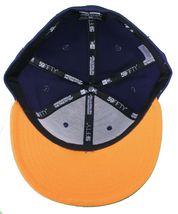 Dissizit NEW ERA Ajusté 59Fifty Ny Chapeau Marine Orange New York image 7
