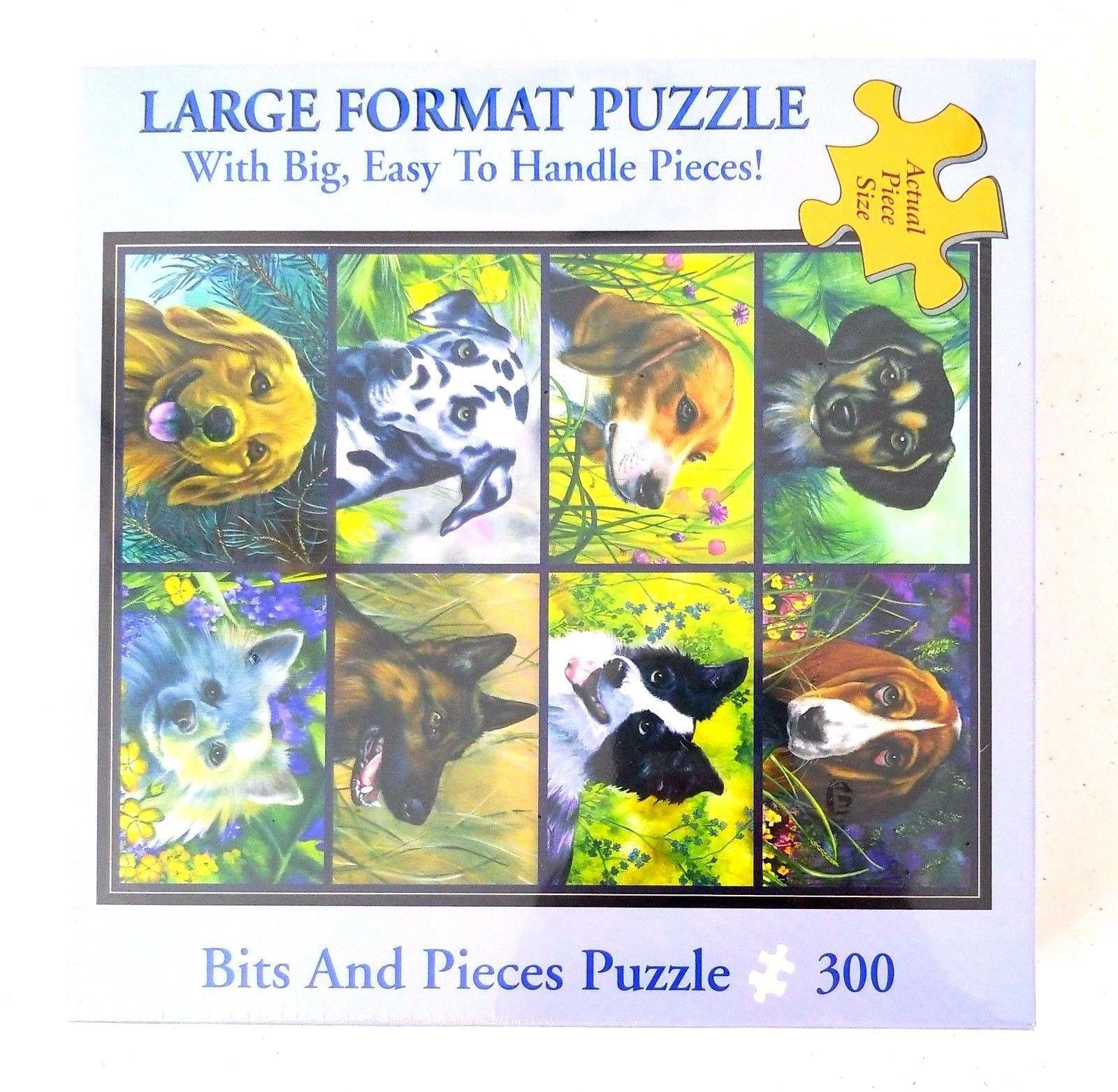 DOGS Set Pieces 300 Bits Piece Puzzle Jigsaw Large Artist ...