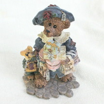Boyds Bears Figurine Vintage 1997 Grace & Jonathan Born to Shop Style #228306 - $9.89