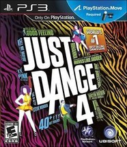 Just Dance 4 (Sony PlayStation 3, 2012)M - $7.39