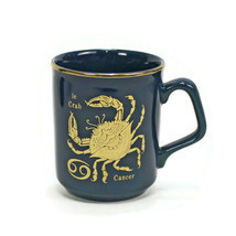 French Coffee Mug | Astrology CANCER THE CRAB Zodiac | 8 oz Cup | June-July - $12.82