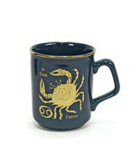 French Coffee Mug | Astrology CANCER THE CRAB Zodiac | 8 oz Cup | June-July - ₹912.25 INR
