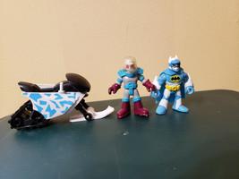Fisher Price Imaginext DC Super Friends Artic Batman Snowmobile Mr Freeze - $17.99