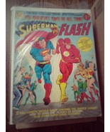SUPERMAN vs. FLASH Oversized Treasury comic book-DC - $116.99