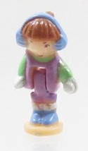 1995 Vintage Lot Polly Pocket Doll Sparkle Snowland - Alexia Bluebird Toys - $7.00