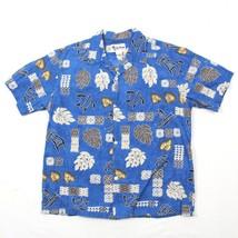 VINTAGE Howie Hawaiian Shirt Aloha HAWAII MADE IN USA Sea Turtle Luau Co... - $33.27