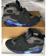 ☆ Air Jordan 8 VIII Retro Aqua 2015 Black Concord Blue 305381-025 Size 11 ☆ - $140.00