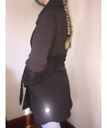 Beautiful Lululemon Double Breasted Studio Trench Coat Br... - $247.50