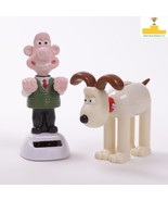 WALLACE and GROMIT Clay Animation Heroes SOLAR Powered PANEL Moving Danc... - $13.69+