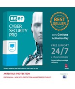 ESET Cyber Security Pro for MacOS 3 PCs 1 Year Nepal License Key on eBay... - $17.94 CAD