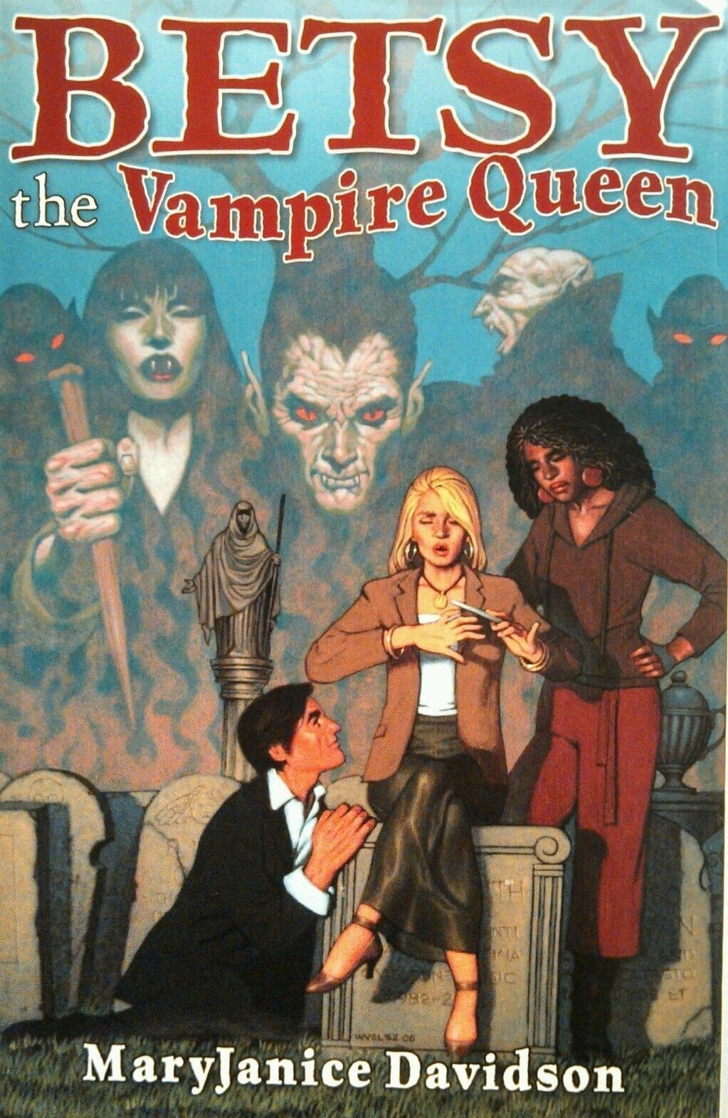 Primary image for Besty the Vampire Queen by Mary Janice Davidson~First 4 Books In Undead Series