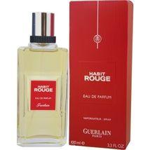 Habit Rouge by Guerlain Eau de Parfum Spray 3.3 oz for Men - $99.99