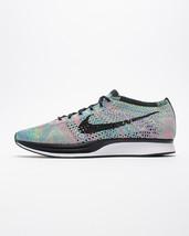 Nike Men's Flyknit Racer Multi-Colour  526628-304 Sneakers Size 12.5 - £122.15 GBP