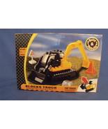 Toys New Block Truck Backhoe Building Blocks Set 18 pieces - $12.95