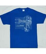 Aliens Movie P-5000 Powerloader Schematic Image T-Shirt NEW UNWORN - $19.34+