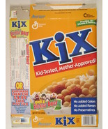 MT GENERAL MILLS Cereal Box KIX 1997 9oz BREAKFAST BABIES [G7D5c] - $11.16