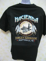 Harley Davidson Men's T Shirt XL SS Hacienda, Scottsdale Az.  - £15.36 GBP