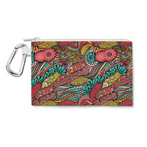 Colors in Flight Canvas Zip Pouch - $15.99+