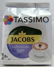 TASSIMO: Jacobs Choco CAPPUCCINO -Coffee Pods -16 pods-FREE SHIPPING - $15.83