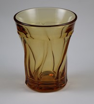 Jamestown No. 2719, Amber, 4.25 Inch No. 73, Flat Tumblers, made by Fost... - $8.00