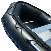 BRIS 15.4 ft Inflatable PVC Boat Inflatable Rescue Fishing Pontoon Boat Dinghy image 10