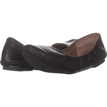 Lucky Brand Emmie Round Toe Ballet Flats 192, Black, 9 US / 39 EU - £22.66 GBP