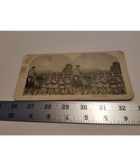 Home Treasure On The March Stereoview Card Military Troops Horse #5 Sold... - $23.74