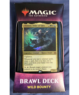Magic the Gathering: Throne of Eldraine Brawl Deck - Wild Bounty - New S... - $17.81
