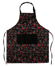 Adjustable Bib Apron With Pockets for Men and Women - Adjustable Neck Strap - Ch - $29.45