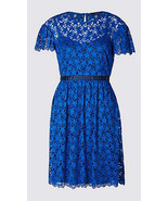 MARKS & SPENCER LIMITED EDITION Star Lace Prom Skater Dress BNWT - $41.26