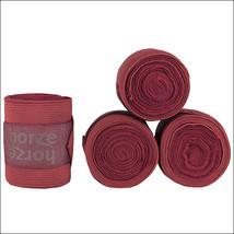 One Size Horze Nest Combi Horse Bandages Brick Red U--BRE - $37.62