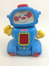 Learn A Bot Fisher Price Smartronics Talking Robot Toy with Batteries 2000 - $18.66