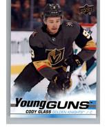 2019-20 Upper Deck #237 Cody Glass NM-MT (RC - Rookie Card) - $20.00