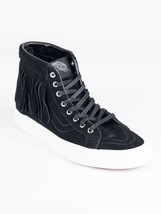 VANS SK8 HI MOC SUEDE MEN 5.5 / WOMEN 7 SHOES BLACK/WHITE VN000315JTZ NEW - £53.34 GBP