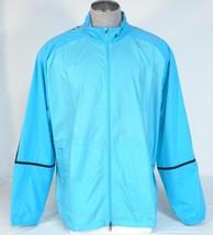 Nike Golf Blue Zip Front Stretch Windproof Wind Jacket Men's NWT - $74.99