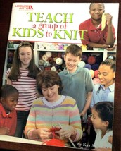 Leisure Arts Teach a Group of Kids To Knit 3713 Children Activity Easy P... - $14.69