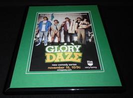 Glory Daze 2010 TBS Framed 11x14 ORIGINAL Advertisement Kelly Blatz Chri... - $32.36