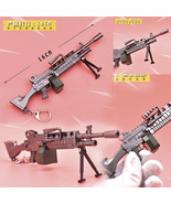 Fortnight Battle Royale Gun Keychain Toy Metal Action Figure Model Gun T... - $13.49