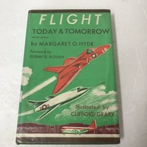 Flight Today And Tomorrow Vintage 1962 HC Libro Margaret O. Hyde - $17.81