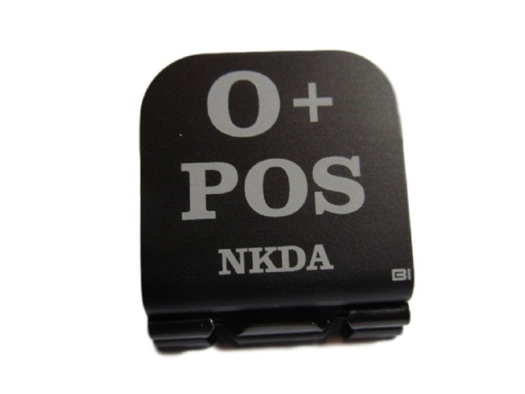 Primary image for O+ POS NKDA Laser Etched Aluminum Hat Clip Brim-it