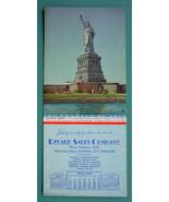 INK BLOTTER AD 1942 - Rivard Sales Co. Kansas City MO & Statue of Liberty - $4.49