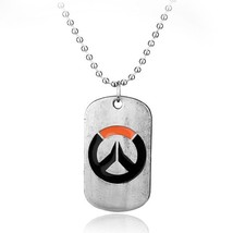 Overwatch Theme Dog Tag Style Unisex Pendant / Necklace -Men's / Women's... - $9.99